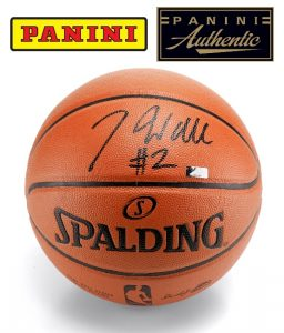 Signed John Wall basketball