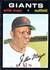 Willie Mays 1971 Topps