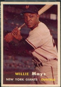 Willie Mays 1957 Topps
