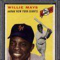 Willie Mays PSA 9 1954 Topps