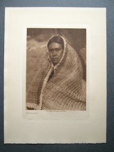 Famed Western photographer Edward Curtis made highly collectible photogravure prints of American Indians.