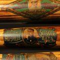 Decal bat Louisville Slugger auction