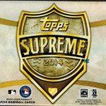 Topps Supreme Hobby Box 2014
