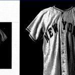 Halper auction Mays jersey