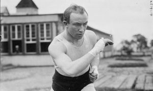 Bantom weight boxing champ Johnny Coulon, 1913