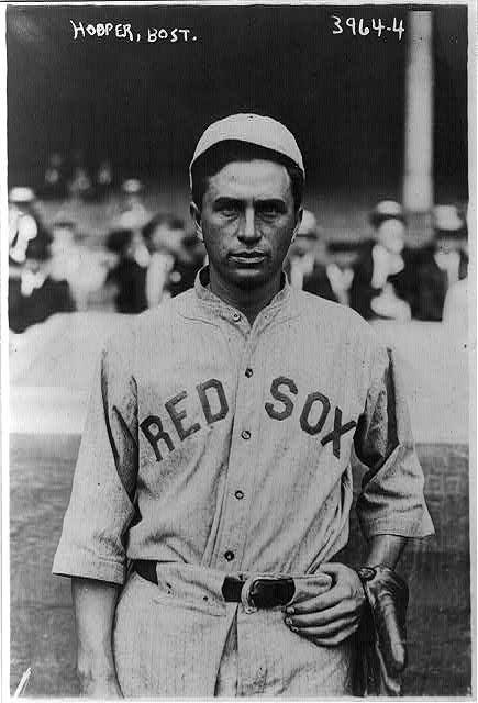 Harry Hooper, Boston Red Sox, early 1910s