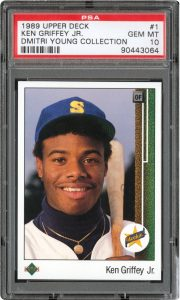 Ken Griffey Jr 1989 Upper Deck rookie
