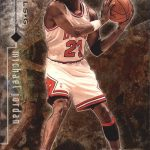 1996-97 Upper Deck Black Diamond Michael Jordan