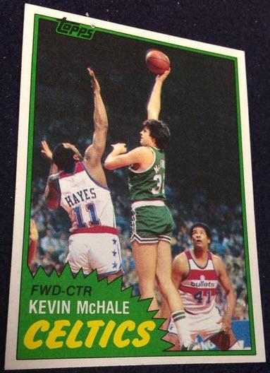 Kevin McHale rookie card