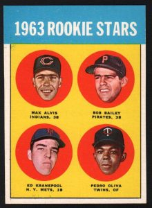 Tony Oliva rookie card