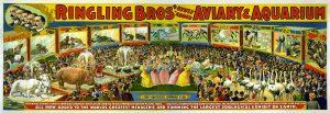 1898 Ringling Bros. Circus Ad Poster