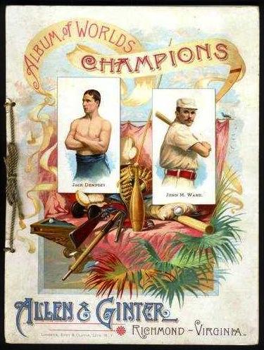 1887 Allen & Ginter tobacco album