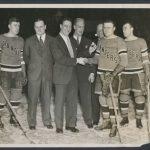 1934 New York Rangers Lou Gehrig