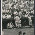 Fans cheer Joe DiMaggio 1941