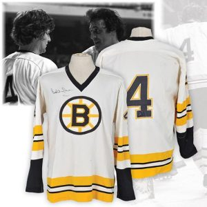 Game-used Bobby Orr jersey