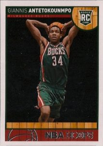 Hoops Giannis Antetokounmpo rookie card