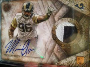 Topps Valor patch 2014