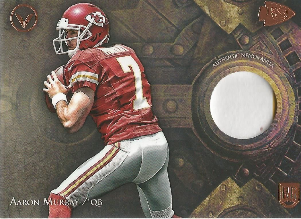 Topps Valor 2014 Aaron Murray patch
