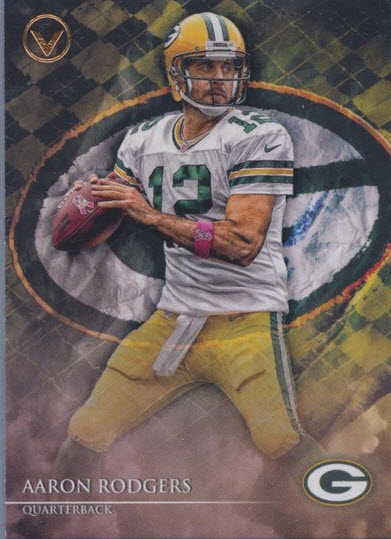 Aaron Rodgers 2014 Topps Valor base
