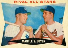 Rival All-Stars 1960 Topps
