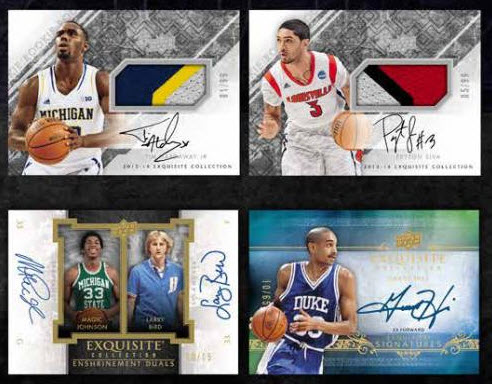 Exquisite Basketball autos 2013-14