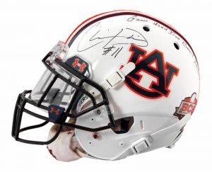 Auburn helmet Chris Davis
