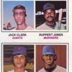 Jack Clark rookie card