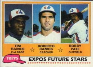 1981 Topps Tim Raines