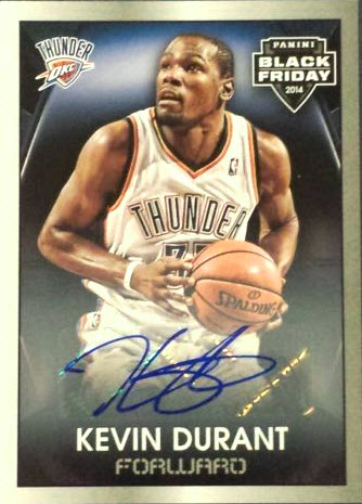 Kevin Durant 2014 basketball card