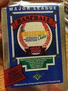 1989 Upper Deck packs