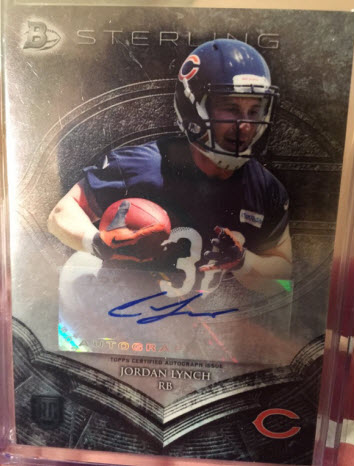 2014 Bowman Sterling Football auto  Lynch