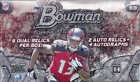 Bowman 2014 Sterling Football hobby box
