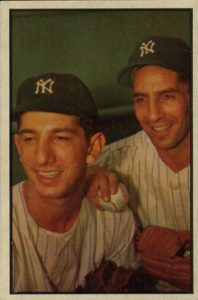 1953 Bowman Billy Martin Phil Rizzuto