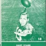 Bart Starr 1961 Lake to Lake Dairy