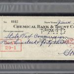 personal check Babe Ruth