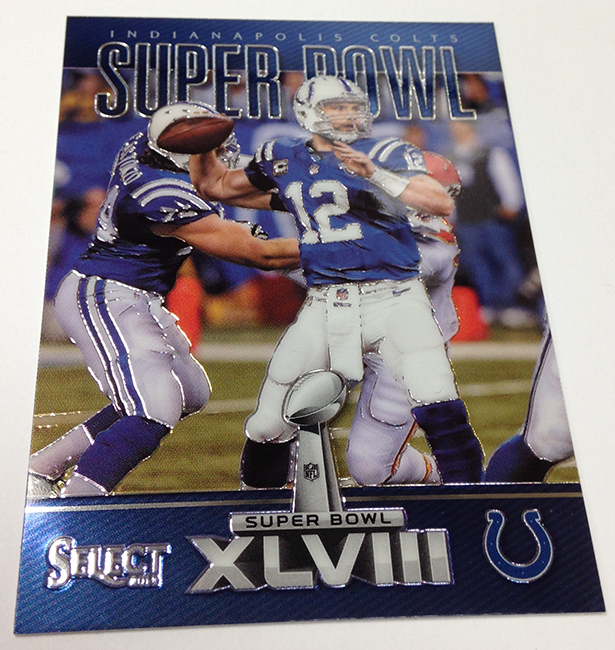 Andrew Luck Super Bowl Selective
