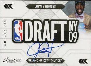 James Harden RC Prestige 2009