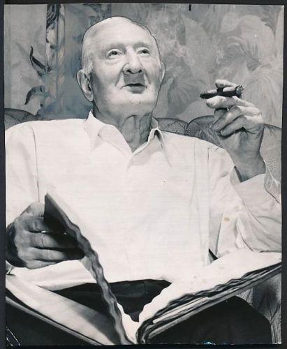 Cigar smoking Honus Wagner