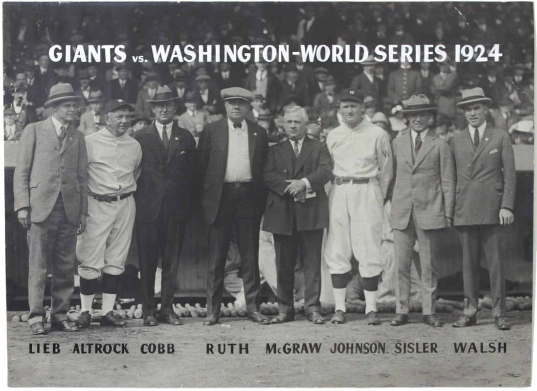 World Series photo 1924