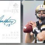 Dan Marino-Drew Brees 2014 SP Authentic Football