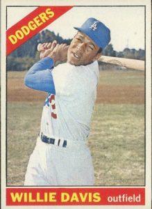 1966 Topps Willie Davis