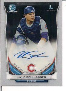 2014 Bowman Draft Kyle Schwarber
