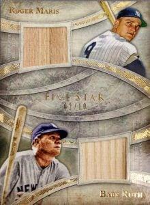 Babe Ruth-Roger Maris bat relic
