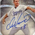 Dan Marino Kansas City Royals autograph