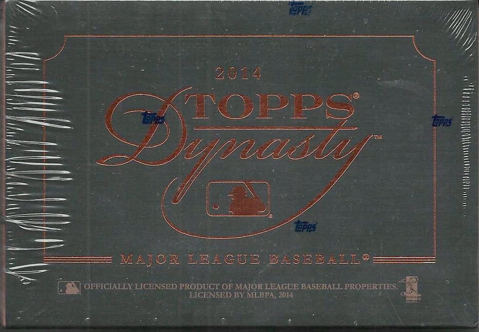 2014 Topps Dynasty Baseball