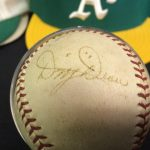 Signed Dizzy Dean baseball