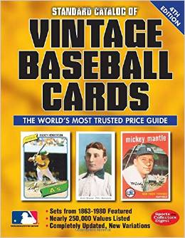 Vintage Baseball Card Standard Catalog