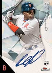 Rumsey Castillo 2015 topps finest autograph