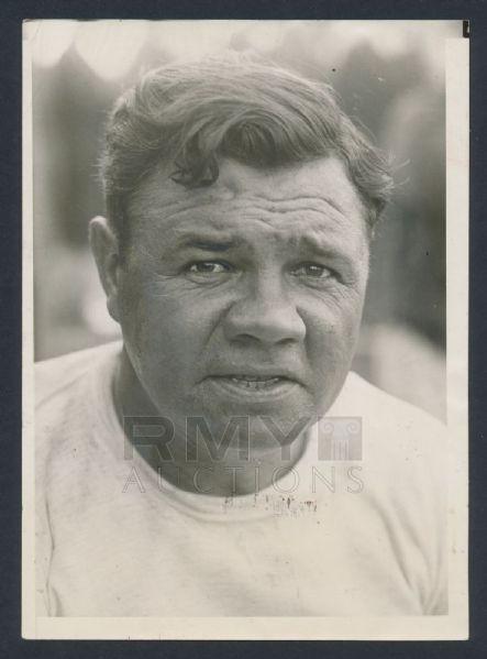 Babe Ruth spring training 1930