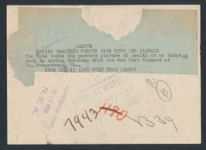 Caption ACME News 1930